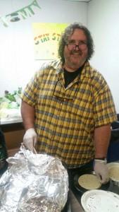 feeding homeless Paul Bogdan